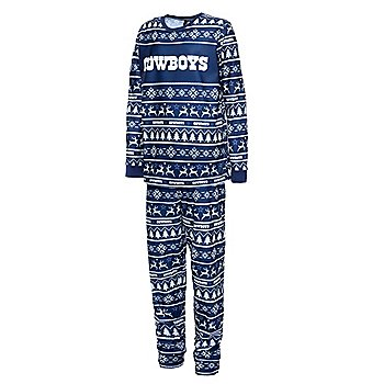 Dallas Cowboys Youth Family Holiday Pajama Set