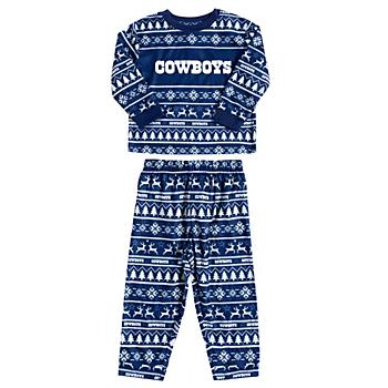 Dallas Cowboys Toddler Family Holiday Pajama Set