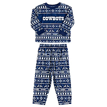 Dallas Cowboys Toddler Family Holiday Pajama Set