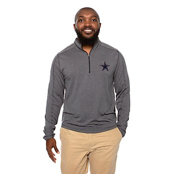 Dallas Cowboys Mens Bretton Quarter-Zip Pullover