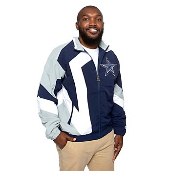 Dallas Cowboys Mens Starter The Star Jacket