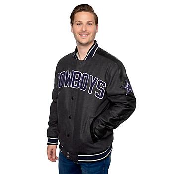 Dallas Cowboys Mens Harris Varsity Jacket
