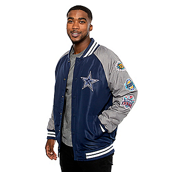 Dallas Cowboys Mens Panola Varsity Jacket