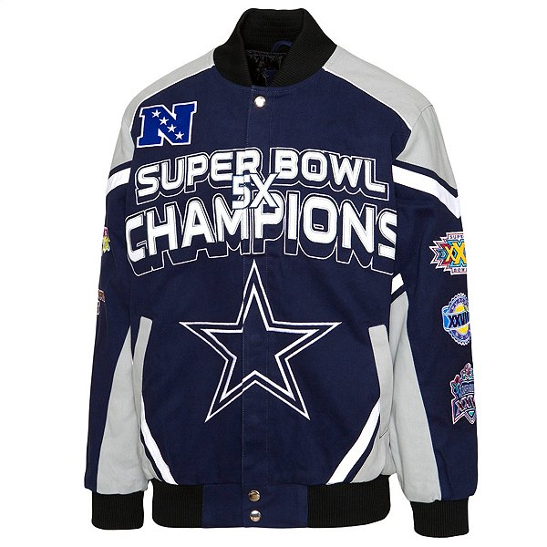 Dallas Cowboys Mens Concho Cotton Twill Jacket