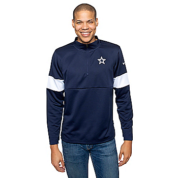 Dallas Cowboys Nike Mens Therma Half-Zip Top