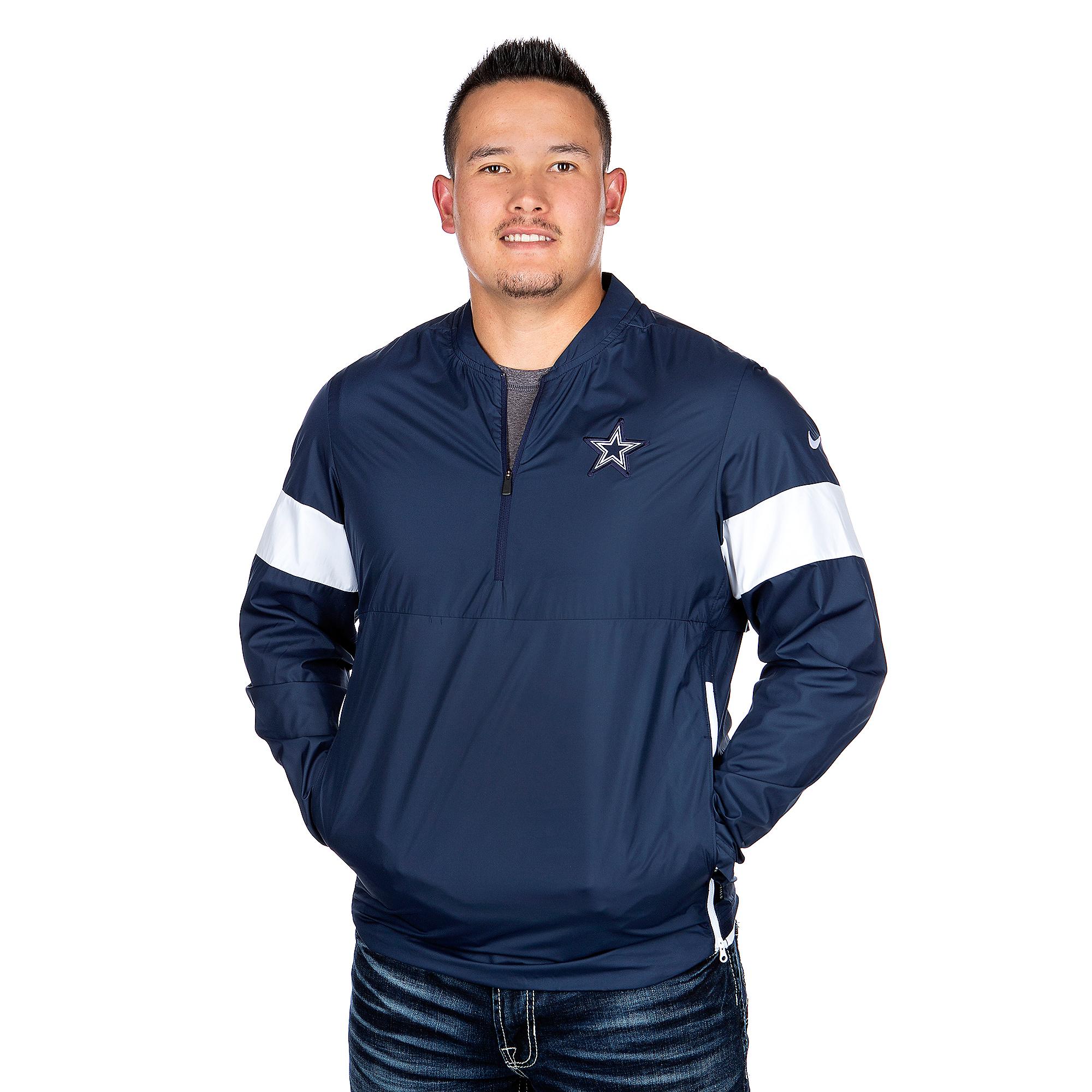 online store c9ffd 7cd44 Dallas Cowboys Nike Lightweight Coach Jacket | Dallas Cowboys Pro Shop
