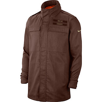 Dallas Cowboys Nike Salute to Service Mens Jacket