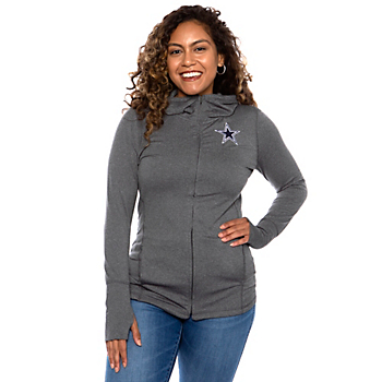 Dallas Cowboys Womens Marie Full-Zip Hoodie