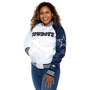 Dallas Cowboys Womens Starter Endzone Secondary Jacket