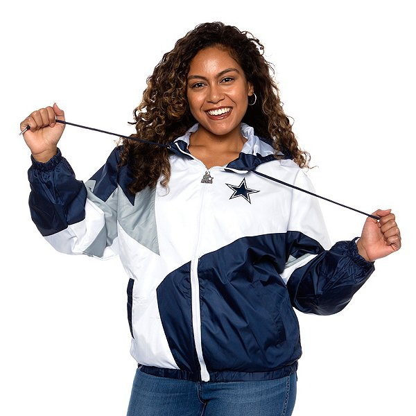 Dallas Cowboys Womens Starter Centerfield Jacket