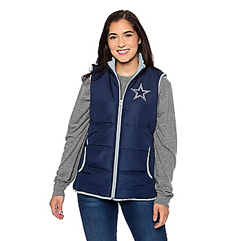 Dallas Cowboys Womens Grand Slam Vest