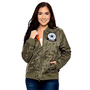 Dallas Cowboys Nike Salute to Service Womens Jacket