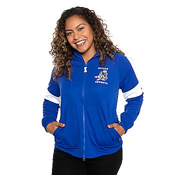 Dallas Cowboys Nike Womens Historic Full-Zip Jacket