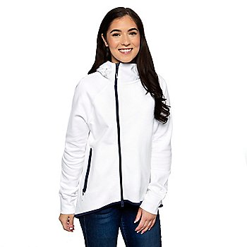 Dallas Cowboys Nike Womens Tech Fleece Cape Full-Zip Hoodie