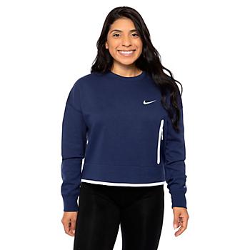 Dallas Cowboys Nike Womens Tech Fleece Crew Sweatshirt