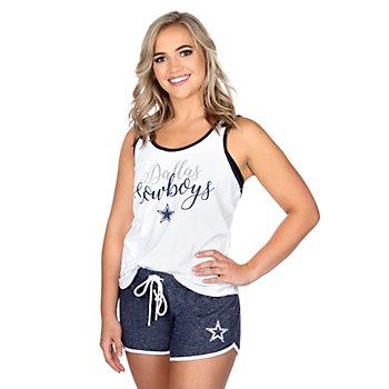 Dallas Cowboys Womens Shelly 2-Piece Pajama Set
