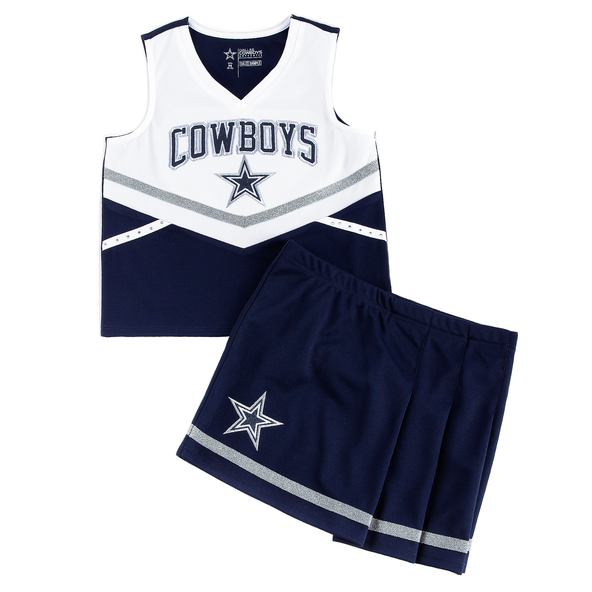 Dallas Cowboys Girls Flyer Cheer Dress