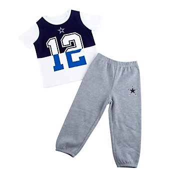 Dallas Cowboys Infant Vista 2-Piece Set