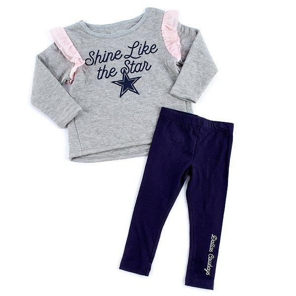 Dallas Cowboys Toddler Halsey 2-Piece Set