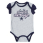 Dallas Cowboys Infant Layla Short Sleeve 2-Pack Bodysuit Set