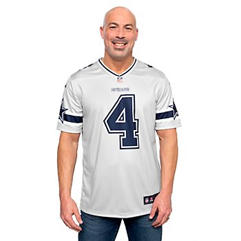 Dallas Cowboys Dak Prescott #4 Nike Legend Secondary Team Jersey T-Shirt