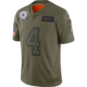 Dallas Cowboys Dak Prescott #4 Nike Limited Salute To Service Jersey