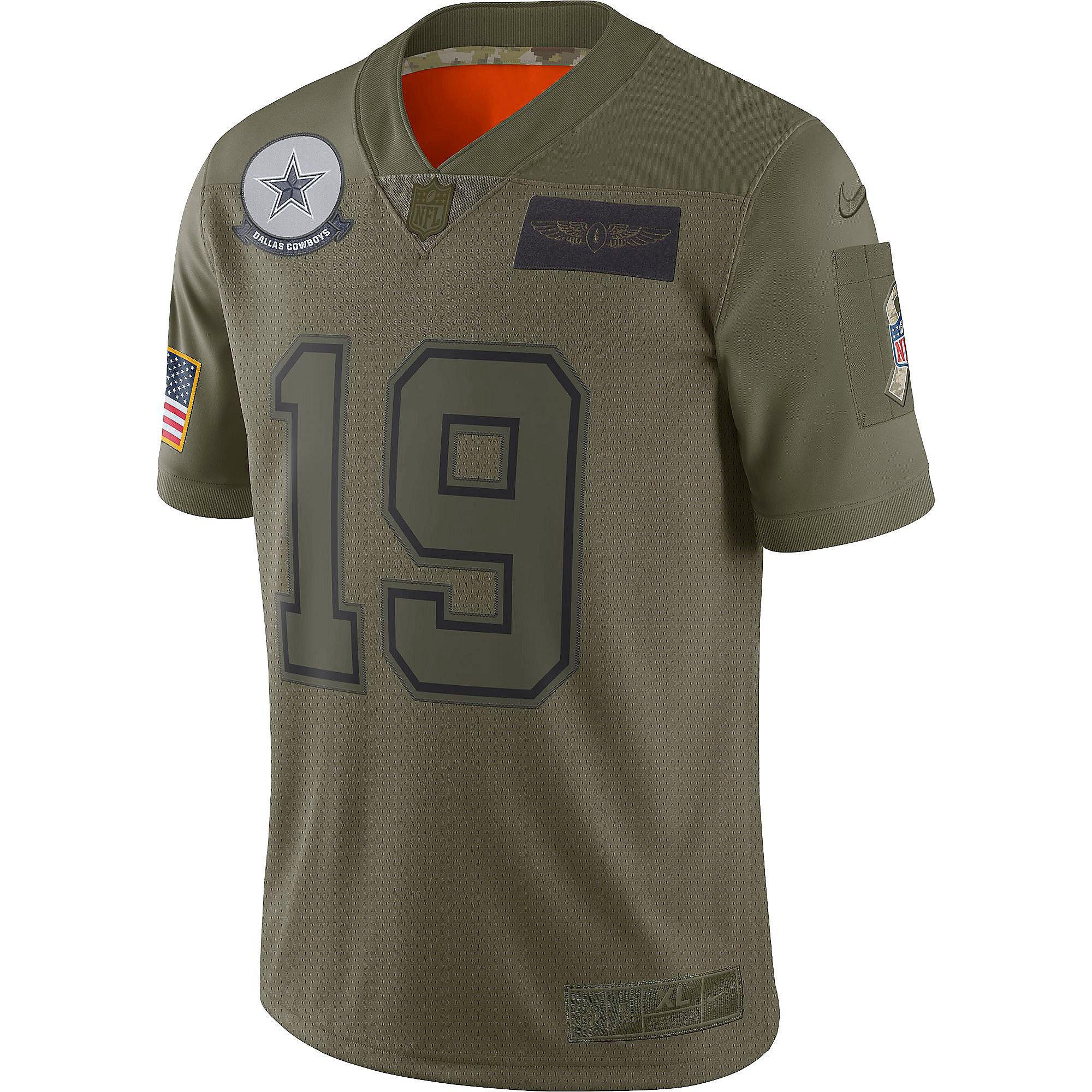 Dallas Cowboys Amari Cooper #19 Nike Limited Salute To Service ...
