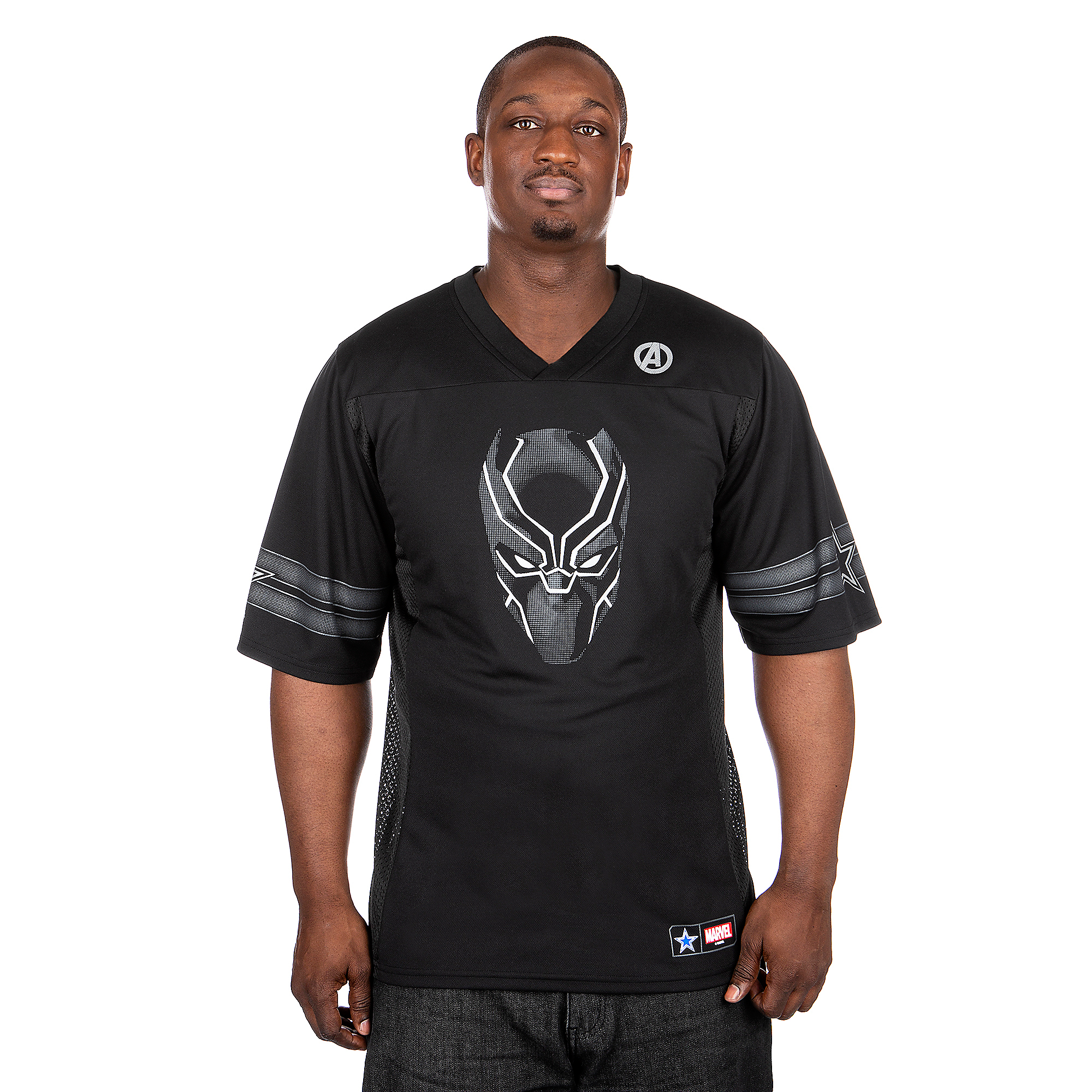 Dallas Cowboys MARVEL Black Panther Jersey
