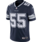 Dallas Cowboys Leighton Vander Esch #55 Nike Navy Vapor Limited Jersey