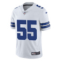 Dallas Cowboys Leighton Vander Esch #55 Nike Vapor Untouchable White Limited Jersey