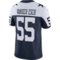 Dallas Cowboys Leighton Vander Esch #55 Nike Vapor Throwback Limited Jersey