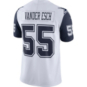 Dallas Cowboys Leighton Vander Esch #55 Nike  Color Rush Limited Jersey