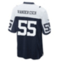 Dallas Cowboys Leighton Vander Esch #55 Nike Game Replica Throwback Jersey