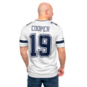 Dallas Cowboys Amari Cooper #19 Nike Legend Secondary Team Jersey T-Shirt
