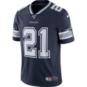 Dallas Cowboys Ezekiel Elliott #21 NFL 100 Nike Vapor Limited Jersey