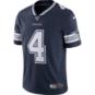Dallas Cowboys Dak Prescott #4 NFL 100 Nike Vapor Limited Jersey