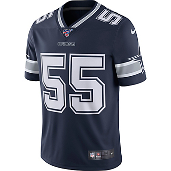Dallas Cowboys Leighton Vander Esch #55 NFL 100 Nike Limited Jersey