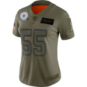 Dallas Cowboys Womens Leighton Vander Esch #55 Nike Limited Salute To Service Jersey