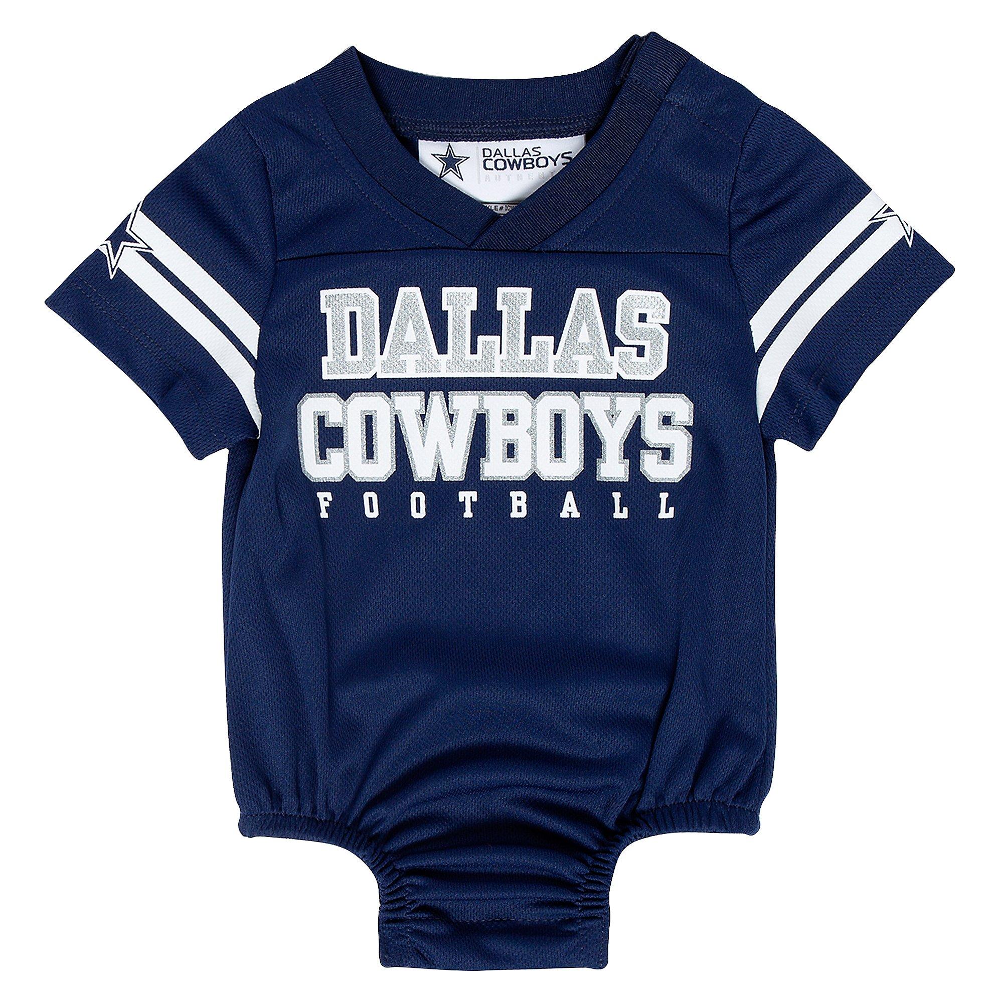 Dallas Cowboys Infant Kayson Jersey Bodysuit   Dallas Cowboys Pro Shop