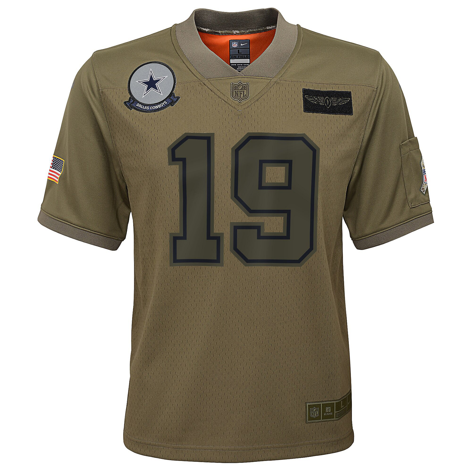 Dallas Cowboys Youth Amari Cooper #19 Nike Limited Salute To Service Jersey