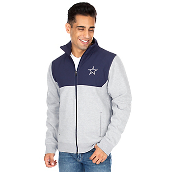 Dallas Cowboys Mens Neiman Full-Zip Pullover