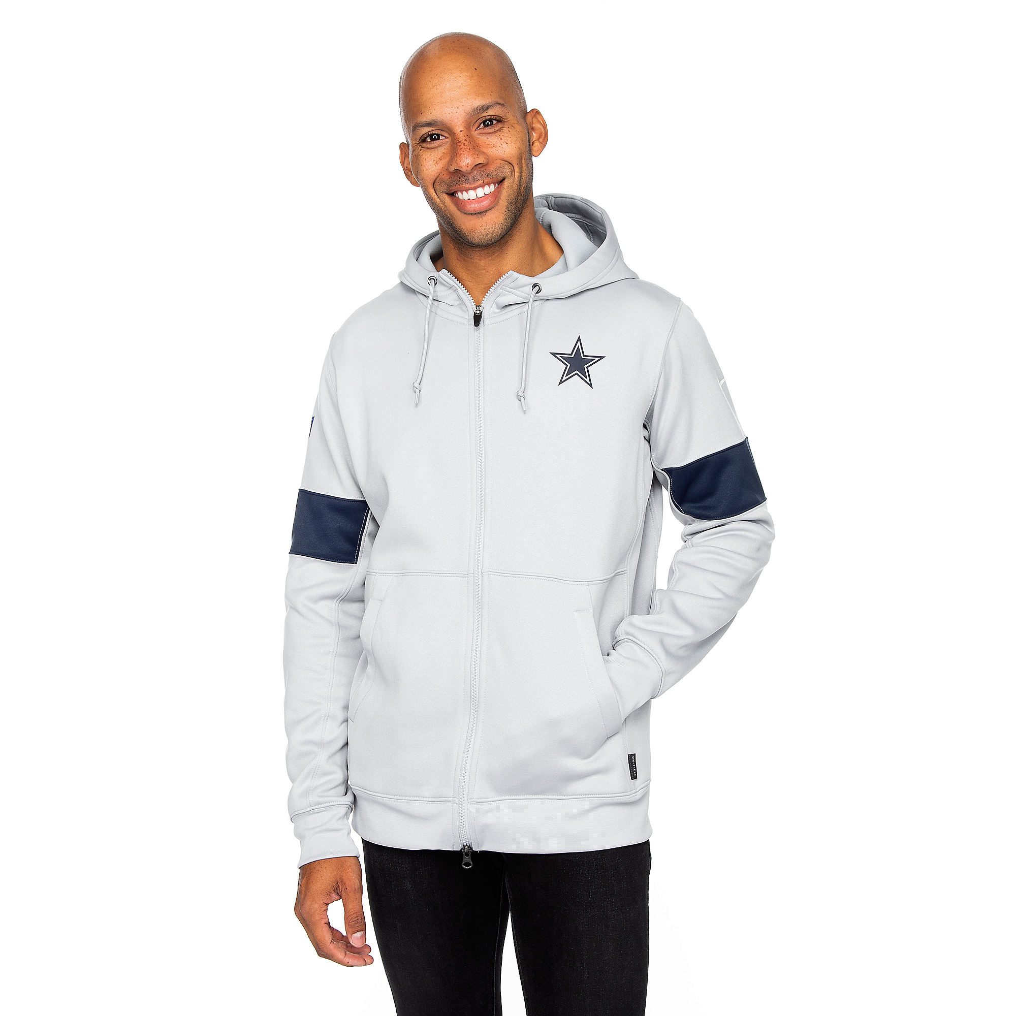 Dallas Cowboys Nike Mens Therma Full-Zip Hoody