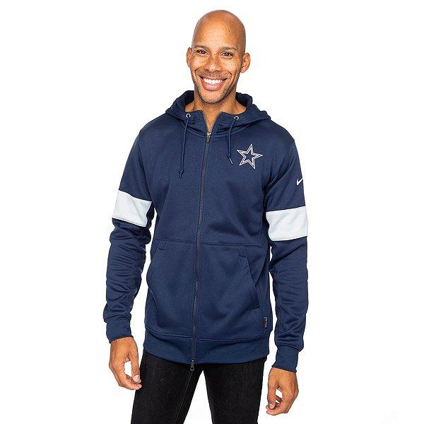 Dallas Cowboys Nike Mens Therma Full-Zip Hoodie