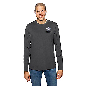 Dallas Cowboys Mens Nike Dry Crew Sweatshirt