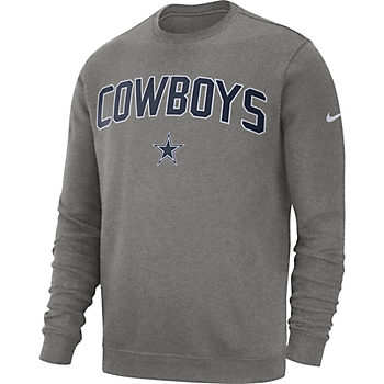 Dallas Cowboys Nike Mens Fleece Club Crew Sweatshirt