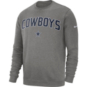 Dallas Cowboys Nike Mens Fleece Club Crew Sweatshirt