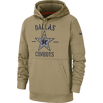 Dallas Cowboys Nike Mens Salute to Service Therma Hoodie