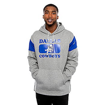 Dallas Cowboys Nike Mens Historic Pullover Hoodie