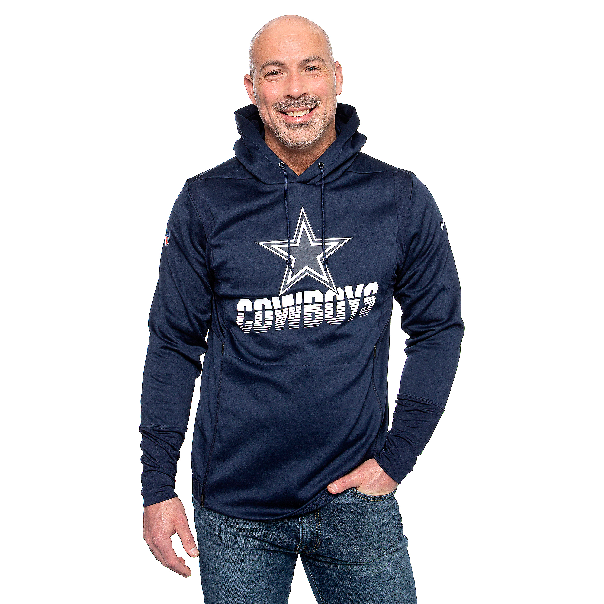 Dallas Cowboys Nike Mens Therma Hoodie