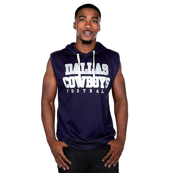 Dallas Cowboys Mens Martell Sleeveless Hoody